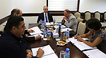 Palestinian Prime Minister, Rami Hamdallah, chairs Meeting of the High Committee for Jerusalem, in the West Bank city of Ramallah, on August 14, 2017. Photo by Prime Minister Office
