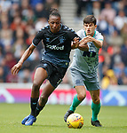21.07.2019: Rangers v Blackburn Rovers: Joe Aribo and John Buckley