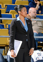 Florida International University assistant coach Desma Thomas Bateast during the game against Stetson University in the first round of the NIT.  FIU won the game 75-47 on March 15, 2012 at Miami, Florida. .