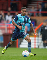Paris Cowan-Hall of Wycombe Wanderers during the pre season friendly match between Aldershot Town and Wycombe Wanderers at the EBB Stadium, Aldershot, England on 22 July 2017. Photo by Andy Rowland.