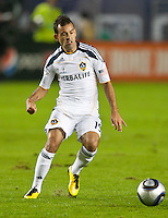 CARSON, CA - November 20, 2011: LA Galaxy midfielder Juninho (19) during the MLS Cup match between LA Galaxy and Houston Dynamo at the Home Depot Center in Carson, California. Final score LA Galaxy 1, Houston Dynamo 0.