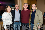 Veronica and Brendan Kennelly, Cecil Hoffman and Richie Hurley at the Kerins O'Rahillys Strictly Come Dancing, held at the Brandon Hotel, Tralee on Saturday night last.