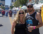 Tracy and Shane during the Great Eldorado BBQ, Brews and Blues Festival in Reno, Nevada on Saturday, June 16, 2018.