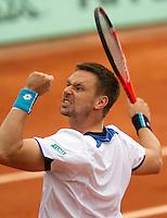 30-05-10, Tennis, France, Paris, Roland Garros, Soderling  verslaat Cilic