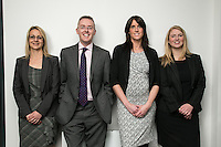 Pictured left to right is Su Garner, Scott McKittrick, Jenny Colver and Melissa Chantrill