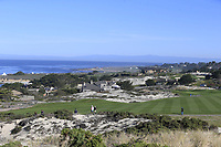 View of Spyglass Hill from the 2nd green at Spyglass Hill during Thursday's Round 1 of the 2018 AT&amp;T Pebble Beach Pro-Am, held over 3 courses Pebble Beach, Spyglass Hill and Monterey, California, USA. 8th February 2018.<br /> Picture: Eoin Clarke | Golffile<br /> <br /> <br /> All photos usage must carry mandatory copyright credit (&copy; Golffile | Eoin Clarke)