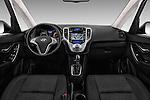 Stock photo of straight dashboard view of 2016 Hyundai ix20 Joy 5 Door Mini MPV Dashboard