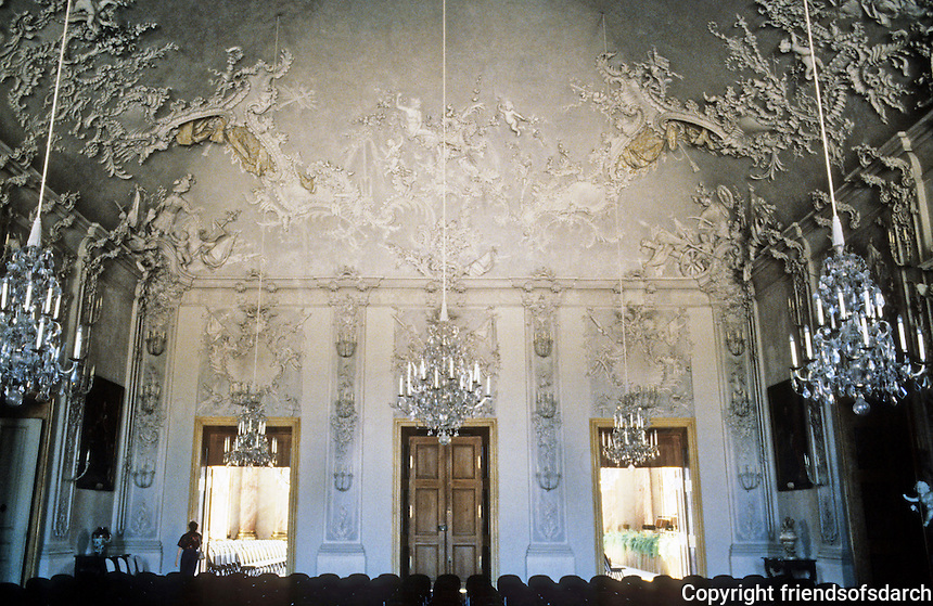 Wurzburg: Residence--view of the White Room.