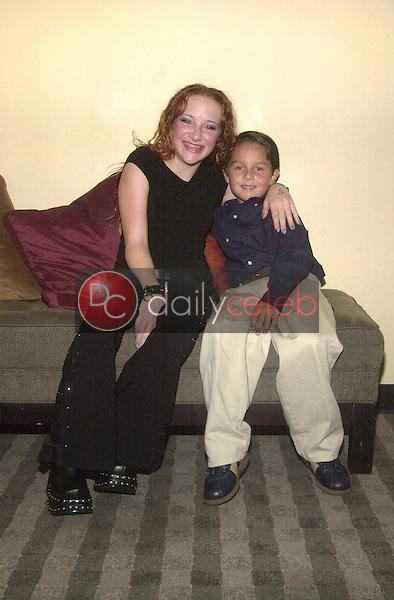 Scarlett Pomers and Mitch Holleman