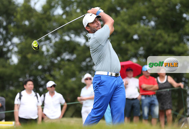 Francesco Molinari (ITA)Francesco Molinari during Round Three of the 2015 Alstom Open de France, played at Le Golf National, Saint-Quentin-En-Yvelines, Paris, France. /04/07/2015/. Picture: Golffile | David Lloyd<br /> <br /> All photos usage must carry mandatory copyright credit (&copy; Golffile | David Lloyd)