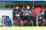 13.03.2019, Allianz Arena, Muenchen, GER, UEFA CL, FC Bayern Muenchen (GER) vs FC Liverpool (GBR) ,Achtelfinale, UEFA regulations prohibit any use of photographs as image sequences and/or quasi-video, im Bild Juergen Klopp (Trainer Liverpool) <br /> <br /> Foto &copy; nordphoto / Straubmeier