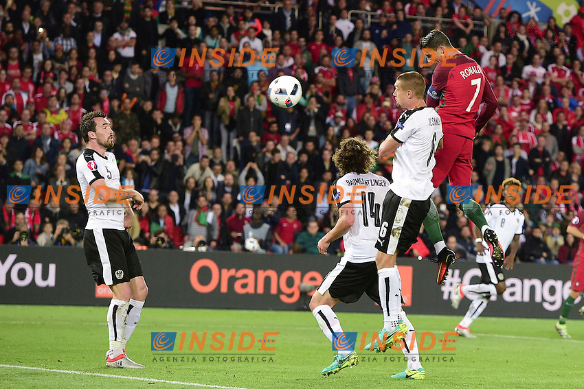 Cristiano Ronaldo (Por) <br /> Paris 18-06-2016 Parc Des Princes Football Euro2016 Portugal - Austria / Portogallo - Austria Group Stage Group F. Foto JB Autissier / Panoramic / Insidefoto