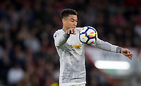 Jesse Lingard of Man Utd during the Premier League match between Bournemouth and Manchester United at the Goldsands Stadium, Bournemouth, England on 18 April 2018. Photo by Andy Rowland.