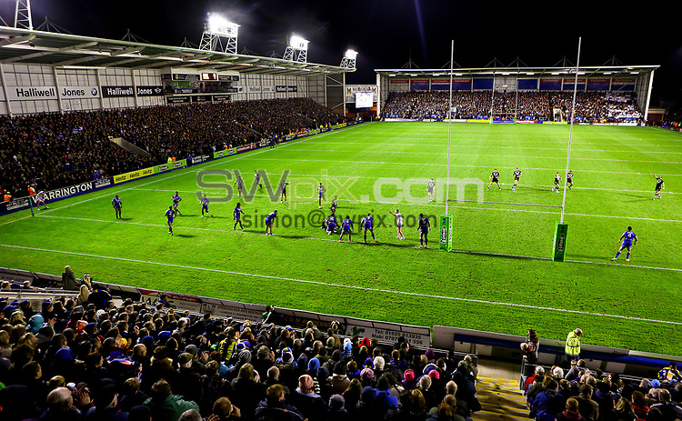 Picture by Alex Whitehead/SWpix.com - 27/10/2013 - Rugby League - Rugby League World Cup - New Zealand v Samoa - Halliwell Jones Stadium, Warrington, England - GV, General View.