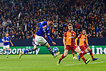 06.11.2018, VELTINS Arena, Gelsenkirchen, Deutschland, GER, UEFA Champions League, Gruppenphase, Gruppe D, FC Schalke 04 vs. Galatasaray Istanbul<br /> <br /> DFL REGULATIONS PROHIBIT ANY USE OF PHOTOGRAPHS AS IMAGE SEQUENCES AND/OR QUASI-VIDEO.<br /> <br /> im Bild Torschuss Guido Burgstaller (#19 Schalke)<br /> <br /> Foto &copy; nordphoto / Kurth