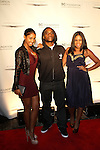 "Bernice Burgos, Power 105.1 Breakfast Clubs' Leonard ""Charlamagne Tha God"" McKelvey and Angela Yee Attend the Shawn Carter Foundation 2011 Carnival at Hudson River Park's Pier 54: The Shawn Carter Foundation's Exclusive Fundraising Event to Support its College Scholarship, NY   9/29/11"