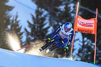 28.12.2019, Stelvio, Bormio, ITA, FIS Weltcup Ski Alpin, Abfahrt, Herren, im Bild Dominik Paris ITA, 1. Platz // race winner Dominik Paris of Italy in action during his run in the men s Downhill of FIS ski alpine world cup at the Stelvio in Bormio, Italy on 2019/12/28. / Groder Bormio *** 28 12 2019, Stelvio, Bormio, ITA, FIS Alpine Ski World Cup, Downhill, Men, in the picture Dominik Paris ITA, 1 place race winner Dominik Paris of Italy in action during his run in the men s Downhill of FIS Alpine Ski World Cup at the Stelvio in Bormio, Italy on 2019 12 28 Groder Bormio PUBLICATIONxNOTxINxAUT EPgro<br /> Foto Imago/Insidefoto