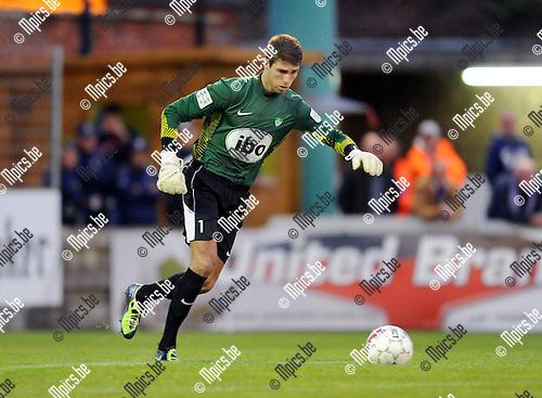 2011-09-14 / Voetbal / seizoen 2011-2012 / Racing Mechelen - Patro Eisden / Sander Kevelaerts..Foto: Mpics
