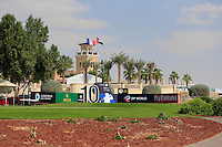 The 10th tee during the preview for the DP World Tour Championship at the Earth course,  Jumeirah Golf Estates in Dubai, UAE,  18/11/2015.<br /> Picture: Golffile | Thos Caffrey<br /> <br /> All photo usage must carry mandatory copyright credit (&copy; Golffile | Thos Caffrey)