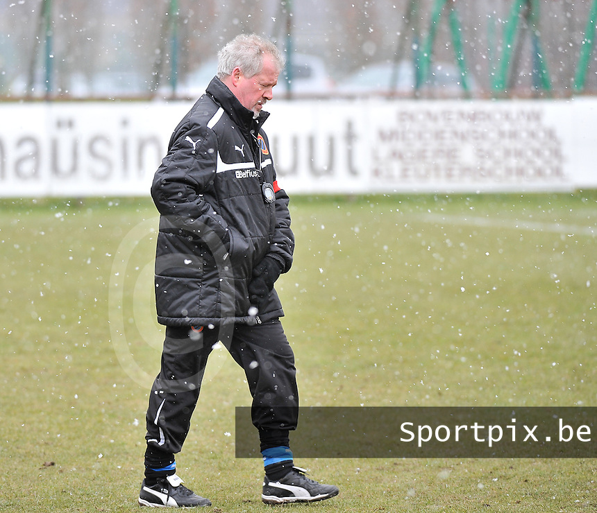 Club Brugge Dames - PEC Zwolle : Club Coach Gunther Bomon.foto DAVID CATRY / Vrouwenteam.be