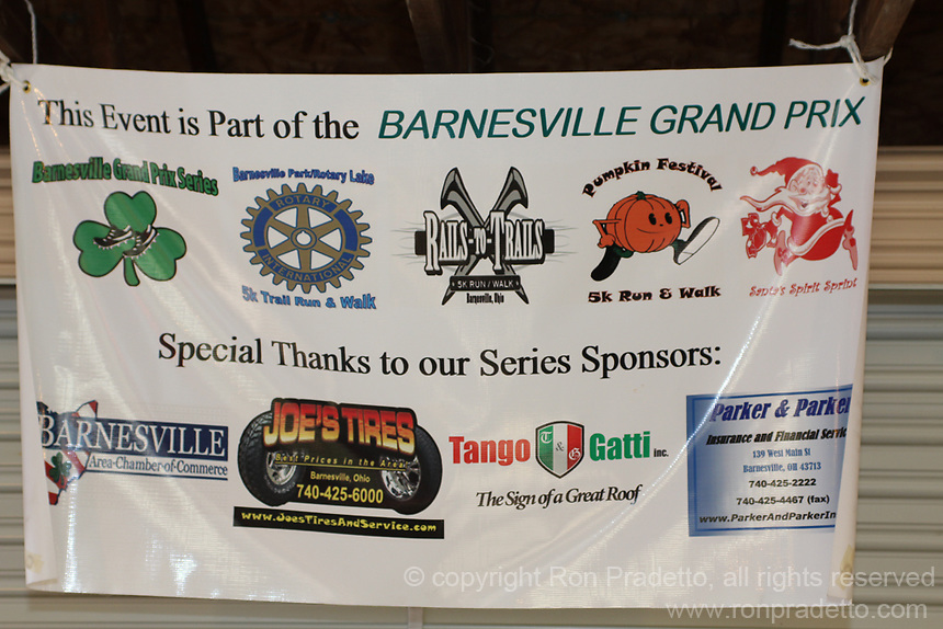 2013 Rails-to-Trails 5K Run/Walk & Tunnel Fun Run for Kids, Barnesville, Ohio May 18, 2013.