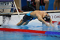 Ryosuke Irie (JPN), <br /> AUGUST 13, 2016 - Swimming : <br /> Men's 4x100m Medley Relay Final <br /> at Olympic Aquatics Stadium <br /> during the Rio 2016 Olympic Games in Rio de Janeiro, Brazil. <br /> (Photo by Koji Aoki/AFLO SPORT)