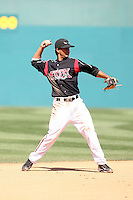 Cole Figueroa -  Lake Elsinore Storm playing against the Lancaster JetHawks at the Diamond, Lake Elsinore, CA - 05/16/2010.Photo by:  Bill Mitchell/Four Seam Images