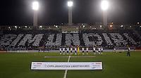 SAO PAULO SP, 13  MARCO 2013 - Libertadores da America - CORINTHIANS X TIJUANA -  torcida     durante partida valida pela Taca Libertadores da Amercia no Estadio do Pacaembu em Sao Paulo, nesta quarta feira, 13. (FOTO: ALAN MORICI / BRAZIL PHOTO PRESS).