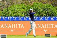 Nicolas Colsaerts (BEL) during the first round of the Afrasia Bank Mauritius Open played at Heritage Golf Club, Domaine Bel Ombre, Mauritius. 30/11/2017.<br /> Picture: Golffile | Phil Inglis<br /> <br /> <br /> All photo usage must carry mandatory copyright credit (&copy; Golffile | Phil Inglis)