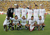 Starting 11, USA vs Jamaica match at National Stadium, in Kingston, Jamaica, Wednesday, Aug. 18, 2004. Tie game 1-1.