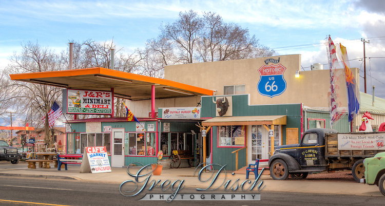 JR's Mini Mart on Route 66 in Seligman Arizona