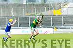 At the Leinster Senior Hurling Championship Round Robin Kerry V LAOIS at Austin Stack Park on Sunday. Pictured Kerry's Sean Nolan
