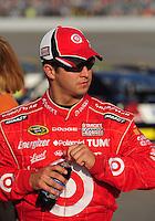 May 2, 2008; Richmond, VA, USA; NASCAR Sprint Cup Series driver Reed Sorenson during qualifying for the Dan Lowry 400 at the Richmond International Raceway. Mandatory Credit: Mark J. Rebilas-US PRESSWIRE