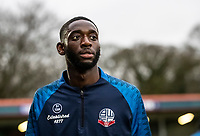 Bolton Wanderers' Muhammadu Faal <br /> <br /> Photographer Andrew Kearns/CameraSport<br /> <br /> The EFL Sky Bet League One - Rochdale v Bolton Wanderers - Saturday 11th January 2020 - Spotland Stadium - Rochdale<br /> <br /> World Copyright © 2020 CameraSport. All rights reserved. 43 Linden Ave. Countesthorpe. Leicester. England. LE8 5PG - Tel: +44 (0) 116 277 4147 - admin@camerasport.com - www.camerasport.com
