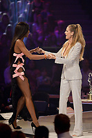 www.acepixs.com<br /> <br /> May 25 2017, Oberhausen<br /> <br /> Heidi Klum and Naomi Campbell (L) take part in the Germany's Next Topmodel Final at Koenig-Pilsener-ARENA on May 25, 2017 in Oberhausen, Germany.<br /> <br /> By Line: Famous/ACE Pictures<br /> <br /> <br /> ACE Pictures Inc<br /> Tel: 6467670430<br /> Email: info@acepixs.com<br /> www.acepixs.com