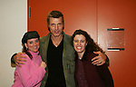 Paolo Seganti and fans Donna & Lynn at the ATWT reunion to benefit Epic Theatre Ensemble after-school Bridge Projects - As The Epic Turns - on April 17 & 18, 2009 at The Peter Jay Sharp Theatre, NYC. (Photo by Sue Coflin/Max Photos)