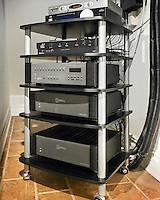 Rolling AV Theater Rack