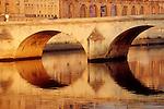 Paris, The River Seine, Pont Royal, the 6th Arrondissement, St. Germain des Pres, France, Europe, European Union.