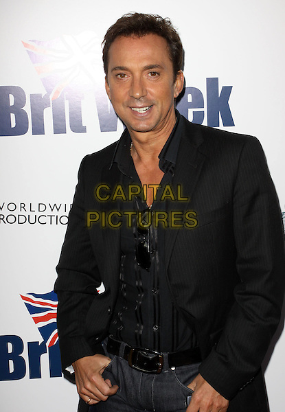 BRUNO TONIOLI.The BritWeek 2010 Champagne Launch held At The British General Consul Residence, Los Angeles, California, USA..April 20th, 2010.half length black suit jacket .CAP/ADM/KB.©Kevan Brooks/AdMedia/Capital Pictures.
