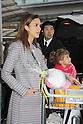 Narita, Japan - April 14th 2012 : Actress Jessica Alba arrives at Narita Airport in Japan with her daughters Haven Garner Warren and Honor Marie Warren and her partner Cash Warren.