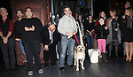 Bill Berloni & Sunny with Company attending the Broadway Opening Night Performance  Gypsy Robe Ceremony celebrating Merwin Foard recipient  for 'Annie' at the Palace Theatre in New York City on 11/08/2012