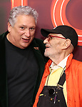 "Harvey Fierstein and Larry Kramer attends the Broadway Opening Night of ""Torch Song"" at the Hayes Theater on Noveber 1, 2018 in New York City."
