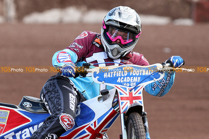 Rob Mear rides for Lakeside Hammers during pre-season speedway practice at Arena Essex Raceway - 10/03/09 - MANDATORY CREDIT: Gavin Ellis/TGSPHOTO - Self billing applies where appropriate - 0845 094 6026 - contact@tgsphoto.co.uk - NO UNPAID USE.