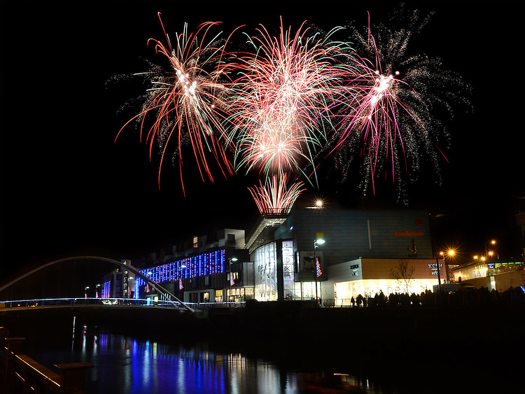 fireworks display at Scotch Hall.  Photo:Colin Bell/pressphotos.iePhoto:Colin Bell/pressphotos.ie