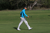 Adrian Meronk (POL) on the 4th during Round 3 of the Challenge Tour Grand Final 2019 at Club de Golf Alcanada, Port d'Alcúdia, Mallorca, Spain on Saturday 9th November 2019.<br /> Picture:  Thos Caffrey / Golffile<br /> <br /> All photo usage must carry mandatory copyright credit (© Golffile | Thos Caffrey)