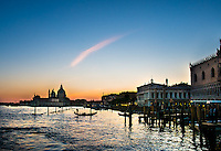 Venice at Sunset, near St Mark's Square