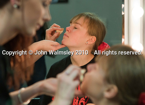 "Make up sessions.  Special Olympics Surrey put on a show,   ""Beyond the Stars"", at the Rose Theatre, Kingston upon Thames to raise money for the  SOGB team.  The Special Olympics are for athletes with learning disabilities."