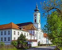Deutschland, Bayern, Oberbayern, 5-Seen-Land, Schaeftlarn: Kloster Schaeftlarn | Germany, Bavaria, Upper Bavaria, Schaeftlarn: monastery Schaeftlarn