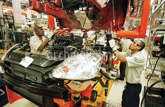 Ford Motors factory in Camaçarí In the Northern state of Bahia, where the company makes the model Fiesta for most Latin America Countries.......