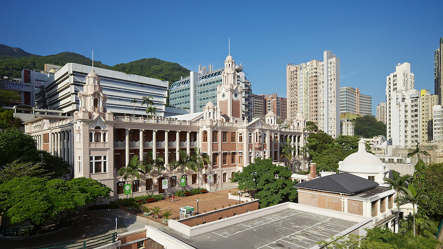 Main Building, University Of Hong Kong.